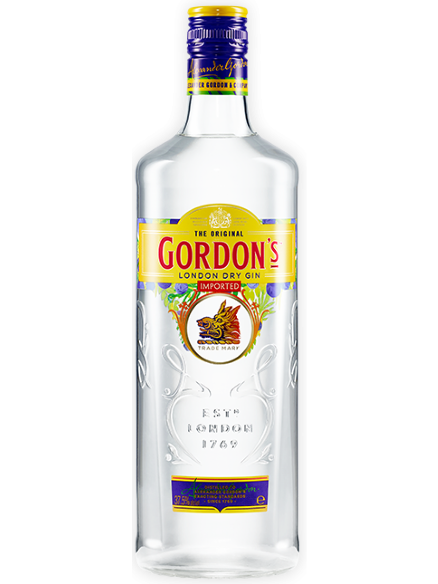 Splinternye Gordons London Dry Gin 1 liter - Buy spirits online - EU Wide Delivery WF-13