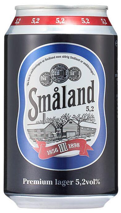 Småland Premium Lager 5 2% 24 x 0,33 liter