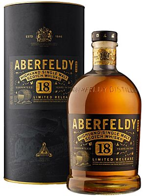 Aberfeldy 18 Jahre Highland Single Malt 40% 1 Liter