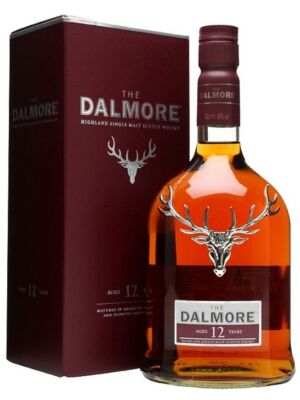 Dalmore 12 Jahre Highland Single Malt Whisky 40% 1 Liter