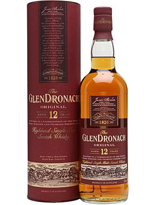 Glendronach 12 Jahre Original Single Malt Whisky 43% 1 Liter