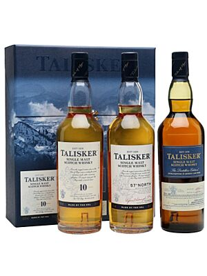Talisker Gift Pack Single Malt Whisky 3 x 0,2 l