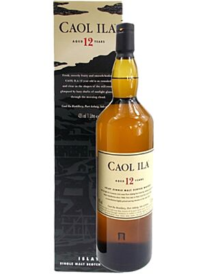 Caol Ila 12 Years Islay Single Malt Whisky 1 l