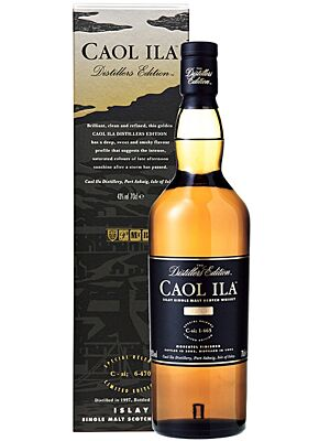 Caol Ila Distillers Edition Malt Scotch Whisky 43% 0,7 Liter