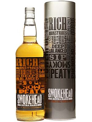 Smokehead Extra Rare Islay Single Malt Whisky 1 l
