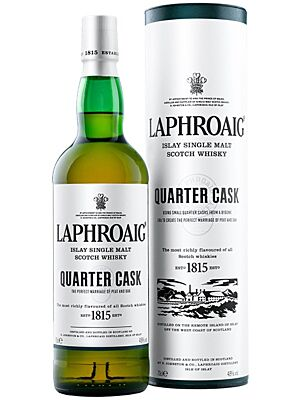 Laphroaig Quarter Cask Islay Single Malt Whisky 1l