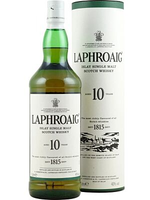 Laphroaig 10 Year Old Islay Whisky 40 % 0.7 l