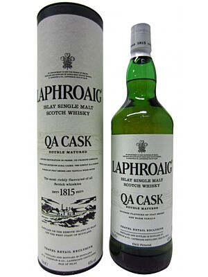 Laphroaig QA Cask Double Matured 1 Litre 40%