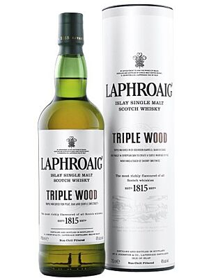 Laphroaig Triple Wood Single Malt Whisky 48,0 % 0,7 l