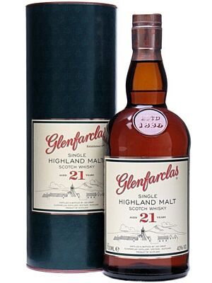 Glenfarclas 21 Years Single Malt Whisky 0,7 l