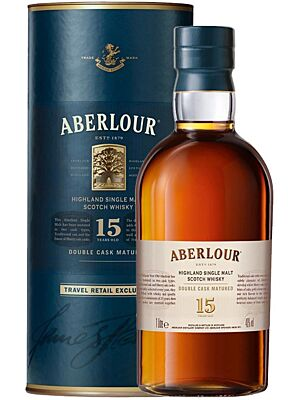 Aberlour 15 Jahre Double Cask Single Malt Whisky 1 l