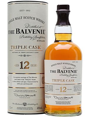 Balvenie 12 Year Old Triple Cask Whisky 1 l