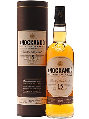 Knockando 15 Years Speyside Single Malt 0,7 l