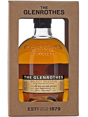 Glenrothes Select Reserve Single Malt 43% 0,7 Liter