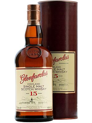 Glenfarclas 15 years Single Highland Malt 0,7 l