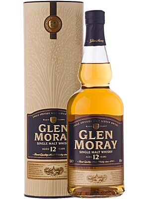 Glen Moray 12 Years Old Speyside Single Malt 0,7 l