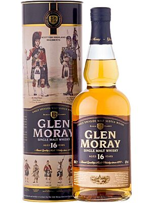 Glen Moray 16 Years Old Speyside Single Malt 0,7 l