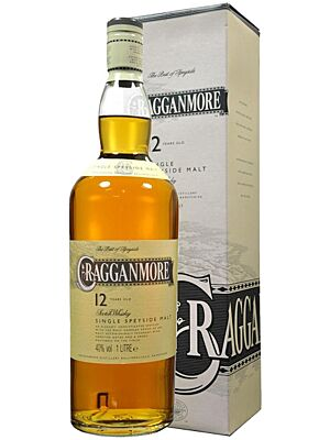 Cragganmore 12 years Single Speyside Malt 1 l
