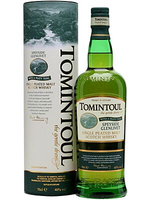 Tomintoul Peaty Single Malt 0,7 l