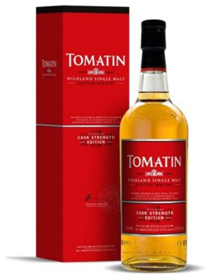 Tomatin Cask Strength Highland Whisky 57.5 % 0.7 l