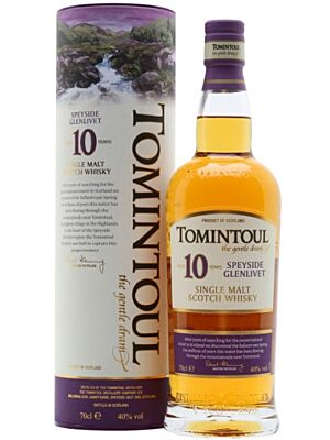 Tomintoul 10 year old Speyside single malt Scotch Whisky 40% 1 l