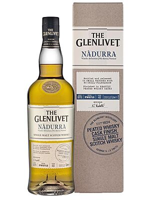 Glenlivet Nadurra Peated Whisky cask finish 48% 1 l