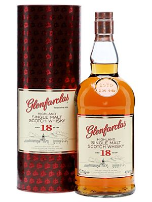 Glenfarclas 18 year old single Highland malt Whisky 43.0% 1.0 l