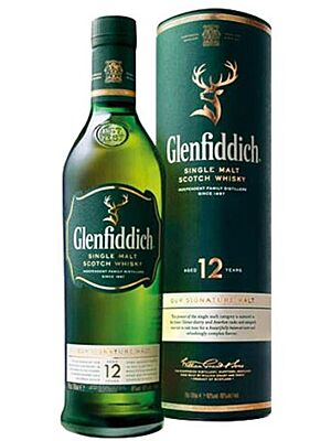 Glenfiddich 12 Jahre Single Malt Whisky 40,0% 1,0 l