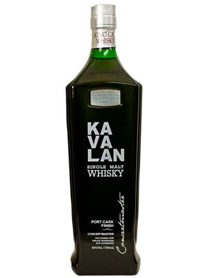Kavalan Concertmaster Port Cask Finish Single Malt Whisky 0,7 Liter 40%