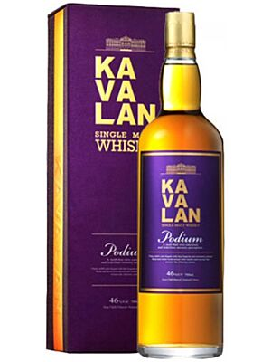 Kavalan Podium Single Malt Whisky 0,7 Liter 46%