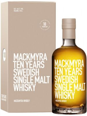 Mackmyra Ten 10 Jahre Single Malt Whisky 46,1% 0,7 Liter