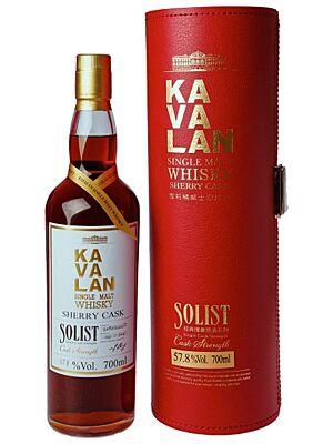 Kavalan Solist Single Sherry Cask 57,8 % 0,7 l