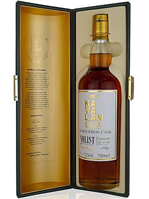 Kavalan Solist Single Bourbon Cask 59,4% 0,7 l