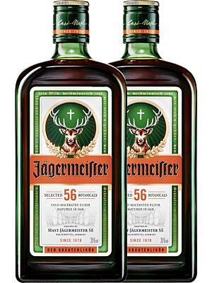 Jägermeister 35% 1,0l im Doppelpack