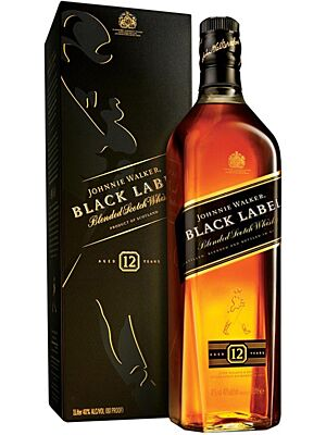 Johnnie Walker Black Label 12 Jahre 1 l