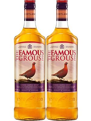 Twin Pack Famous Grouse Whisky 2 x 1 l