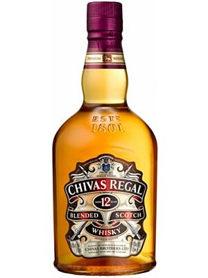 Chivas Regal 12 Jahre Blended Scotch Whisky 1 Liter 40%