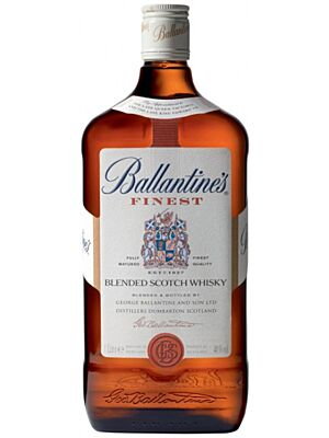 Ballantines Finest Blended Scotch Whisky 1 Liter 40%