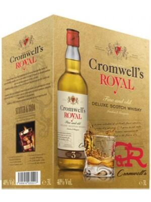 Cromwells Royal De Luxe Scotch Whisky 3 Liter Bag in Box 40,0%