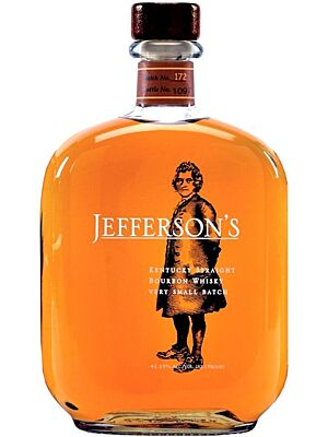 Jefferson's Kentucky Straight Bourbon Whisky 0,7 l