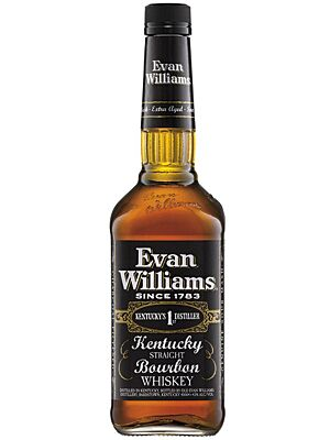 Evan Williams 7 Jahre Kentucky Straight Bourbon Whiskey 43,0 % 1,0 l