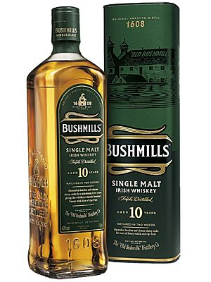 Bushmills 10 Jahre Irish Single Malt Whiskey 1 l