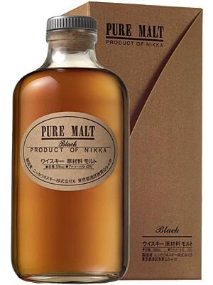 Nikka Pure Malt Black 0,5 l