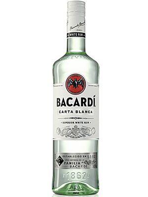 Bacardi Carta Blanca, Superior Weißer Rum 1 l