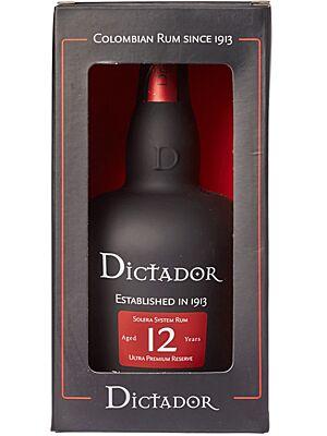 Dictador Solera Rum 12 Jahre 0,7 l