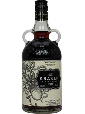 The Kraken Black Spiced Rum 1 l