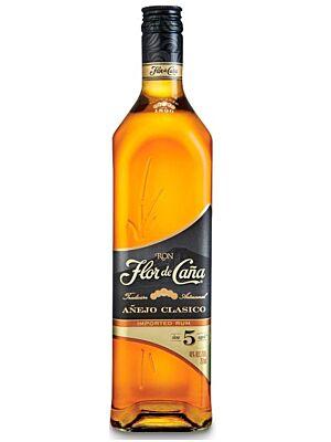 Ron Flor de Cana 5 Jahre Five Years Anejo Clasico Rum 40,0 % 0,7 l