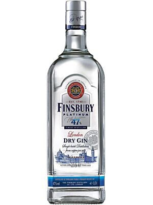 Finsbury 47 Platinum London Dry Gin 1 l
