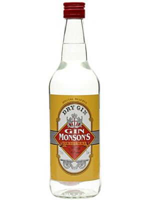 Monsons Dry Gin aus Frankreich 37,5 % 0,7 l