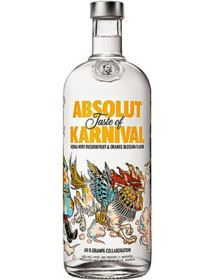 Absolut Karnival Limited Vodka 1 l